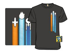 This T-Shirt Depicts The Ultimate Space Race Read more at http://fashionablygeek.com/t-shirts/space-race-shirt/#pKfdMYbwIQLz4sJ5.99