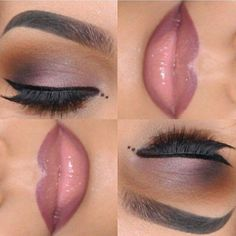 Like the warmth in the eyeshadow. If i did my lipliner like that I'd look ridiculous though.