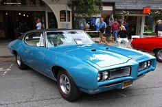 1968 Pontiac GTO Images. Photo: 68-