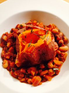 Delicious syn free BBQ Beans with sweet potato - follow my blog for more low syn and syn free recipes