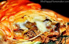 Flashback Friday - BEST EVER Enchiladas {My Favorite!} - Mrs Happy Homemaker