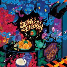 Semi Hendrix  Breakfast at Banksy's (cover artwork)