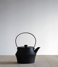 Since medieval times, the cast-iron kettle has stood at the center of the traditional Japanese household, steaming on the stove and ready to supply water f