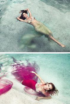 Photography: Ashley Holloway Models: Katrinna Wallace and Amanda Mae Gray MUA: Marina Conde Hair Stylist: Tony Gonzalez