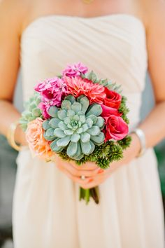 ThisMaravilla Gardenswedding is fiesta gone fabulous. Vibrant, fun, and captured beautifully byMarianne Wilson Photography,it's the type of wedding that will put some serious va va voom into your day. From the bright, happy florals byThe Little Branchto the gorgeous couple