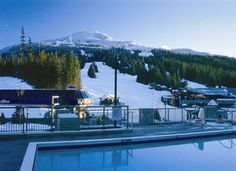 Cannot wait to relax in the hot tub after a fantastic day of skiing - Pan Pacific Mountainside Whistler #whistler