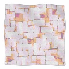 East Urban Home 'Cobble' By Rachel Watson Fleece Blanket
