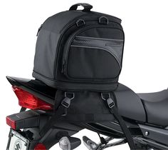 Nelson-Rigg | Tail Bags : CL-1070 Touring Expandable Motorcycle Tail Pack