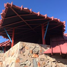 Taliesin West Red Roof Shelter