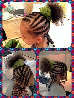 Natural braids for little girls. #adoption www.adoptlanguage.com