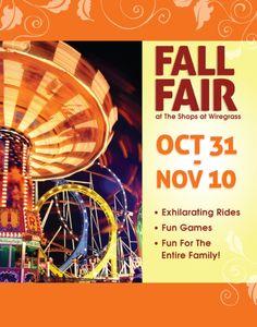 Fall Fair at The Shops at Wiregrass