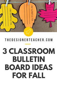 Get your classroom bulletin board ready for fall with these bulletin board ideas, perfect for September, October, November. Includes pumpkin, bat, and leaf crafts! November Bulletin Boards, Kindergarten Bulletin Boards, Teacher Bulletin Boards, Classroom Bulletin Boards, Preschool Classroom, Teaching Kindergarten, Classroom Activities, Classroom Organization, Classroom Door