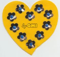 Embroidery #applique made with GMI laser machine