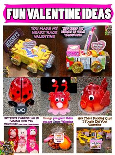 Valentine Treat Ideas Need a fun DIY treat for your kids valentines, check out some of these great ideas! You Keep My Heart in Tow You Make my Heart Race Im Bananas Over you Valentine I Totally Dig You Valentine . School Valentines Treats, Valentines Robots, Kinder Valentines, Valentine Gifts For Kids, Valentine Day Boxes, Valentines Day Party, Valentine Day Crafts, School Treats, Holiday Crafts