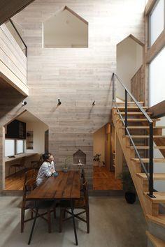 Casa Hazukashi / ALTS Design Office, Cortesía de ALTS Design Office