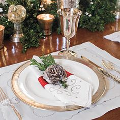 101 Fresh Christmas Decorating Ideas | Make Your Own Napkin Rings | SouthernLiving.com