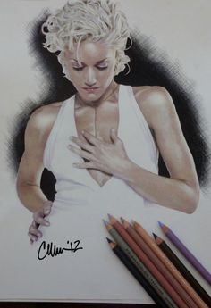 Gwen Stefani Drawing by ~Live4ArtInLA on deviantART