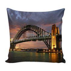 SYdney Harbour Bridge New South Wales pillow cover