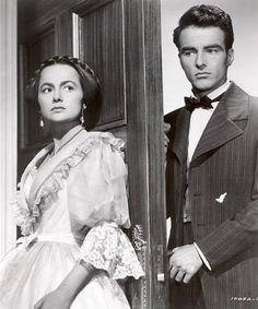 The Heiress - Olivia de Haviland and Montgomery Clift