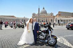 Simone con la sua sposa vestita www.cinziaferri.com