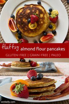 paleo almond flour pancakes