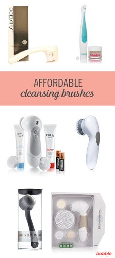 Regular use of cleansing brushes offer many benefits. They improve tone, texture, elasticity, and firmness of your skin. They work by gently exfoliating as you cleanse (allowing for a deeper clean), are more efficient at makeup removal, and improve blood flow to the skin. However, these brushes can be expensive and out of budget. From Proactiv to Spa Sonic, we've pulled together a list of affordable cleansing brushes to help you improve your skin care routine.