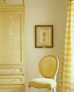 I like the use of yellow on yellow and would like to incorporate it into my home one day.