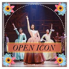 """""""OPEN ICON - Schuyler Sisters - message me to claim"""" by evol-love ❤ liked on Polyvore featuring art"""