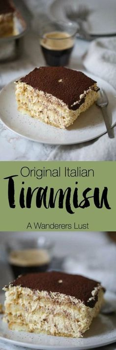 The taste of this original Italian Tiramisu will make your knees soft. It is so seductively creamy and so simple and fast made.