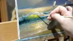 Уроки живописи маслом от Ольги Базановой: смешение цветов - телесный - YouTube