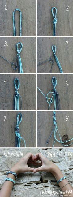 Simple DIY Chunky Throw Blankets - List Pin - The Friendship Bracelet . - Simple DIY Chunky Throw Blankets – List Pin – The Friendship Bracelet – Tutorial - Diy Bracelets Easy, Bracelet Crafts, Macrame Bracelets, Bracelets For Men, Jewelry Crafts, Ankle Bracelets, Crochet Bracelet, Braclets Diy, Chain Bracelets