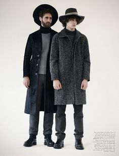 Eli Griffiths & Max H by Toby Knott for Wonderland
