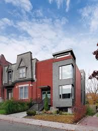 Image result for house facades modern red and grey
