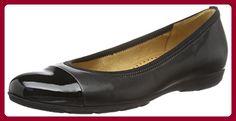 Gabor Shoes 54.161 Damen Geschlossene Ballerinas, Schwarz (Schwarz 57), 40 EU (6.5 Damen UK) - Ballerinas für frauen (*Partner-Link)