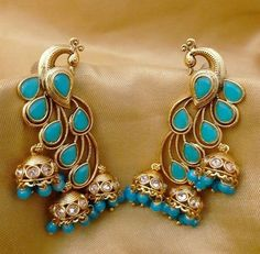 I have this lovely India Jewelry, Jewelery, Silver Jewelry, Jewelry Accessories, Jewelry Design, Hanging Earrings, Stud Earrings, Indian Wedding Jewelry, Jewelry Patterns