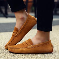 Mens Loafers Shoes, Loafers Outfit, Men's Shoes, Dress Shoes, Shoes Men, Moccasins Outfit, Male Shoes, Men's Loafers, Leather Loafer Shoes