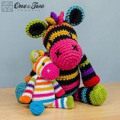 Happy Mother's Day!  #crochet #crochetpattern #crochetaddict #ravelry #etsy #etsyseller #etsyshop #ilovecrochet #instacrochet #crochetersofinstagram #oneandtwocompany #zebra #instamigurumi #amigurumipattern #amigurumi #amigurumidoll by oneandtwocompany