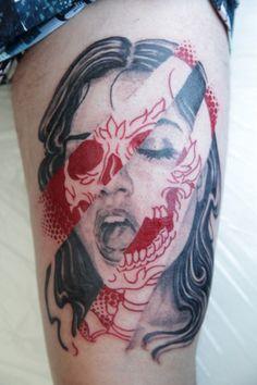 Tattoo Lust: Skulls | Fonda LaShay // Design → more on fondalashay.com/blog