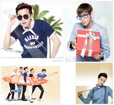 More Big Bang for G-Market Website Photos [PHOTO]