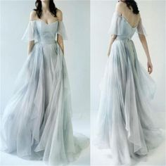 Chic A Line Prom Dress Modest Elegant Cheap Long Prom Dress