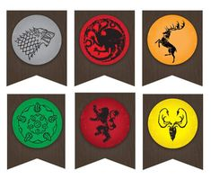 Game of Thrones Party Banner Printable PDF file | Etsy Bolo Game Of Thrones, Game Of Thrones Flags, Game Of Thrones Birthday, Game Of Thrones Party, Birthday Fun, Birthday Party Themes, Fiesta Games, Got Party, Game Of Trones