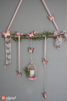 Advent Wreath, Wreath Crafts, Easter Crafts For Kids, Toddler Crafts, Wooden Rabbit, Diy Ostern, Dragonfly Art, Branch Decor, Bedroom Murals