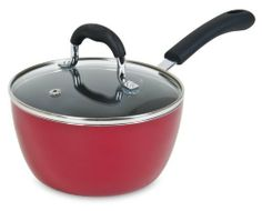Clipper 315-00014 1.5-Quart Pantry Chef Sauce Pan with Lid, Red by Clipper Cookware. $15.59. Durable and long lasting Eternal nonstick coating makes cleaning easy. Made of heavy gauge aluminum for superior heat distribution. Dishwasher Safe. Release your inner chef with this 1-1/2-quart Covered Sauce Pan Built with Intention, Better by Design. Comfortable silicon soft grip handle for superior comfort and safety. Dishwasher safe,1-1/2-quart capacity, nonstick h...