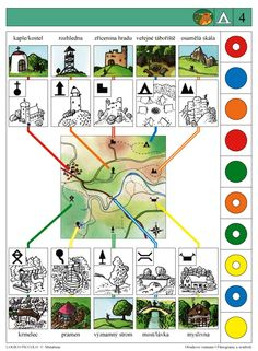 LOGICO PICCOLO | Piktogramy a symboly | Didaktické pomůcky a hračky - AMOSEK Sequencing Cards, Teaching Geography, History For Kids, Brain Activities, Math For Kids, Science And Nature, Montessori, Homeschool, Nursery