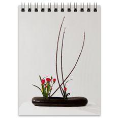 Блокнот Ikebana, Incense, Flower Arrangements