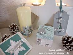 Stempelfix: weihnachtliches Geschenkset