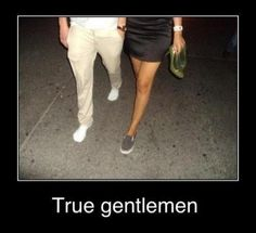 It's a beautiful thing to see chivalry.