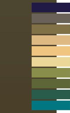 #Farbbberatung #Stilberatung #Farbenreich mit www.farben-reich.com Dark Olive color for Dark Autumn