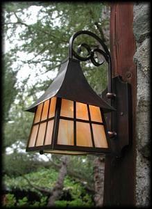English Cottage Style Porch Lantern