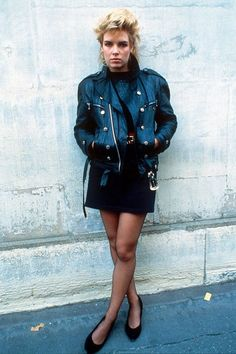 style icons 1980s, debbie harry, blondie, michael jackson, diane spencer, lady diana, celebrity fashion (Glamour.com UK)
